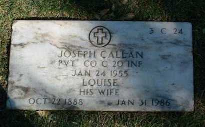 CALLAN, ANNETTE LOUISE - Yavapai County, Arizona | ANNETTE LOUISE CALLAN - Arizona Gravestone Photos