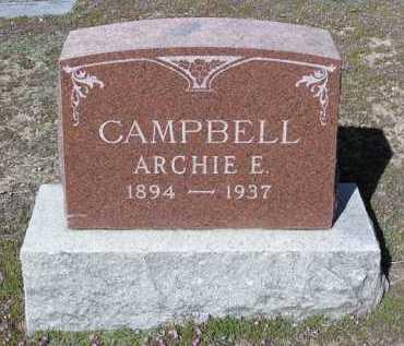 CAMPBELL, ARCHIE EARL - Yavapai County, Arizona | ARCHIE EARL CAMPBELL - Arizona Gravestone Photos