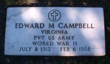 CAMPBELL, EDWARD M. - Yavapai County, Arizona | EDWARD M. CAMPBELL - Arizona Gravestone Photos