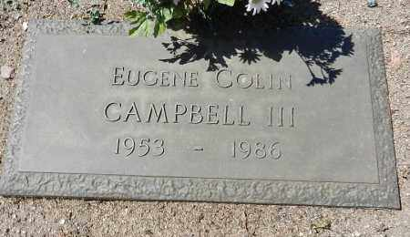 CAMPBELL, EUGENE COLIN - Yavapai County, Arizona | EUGENE COLIN CAMPBELL - Arizona Gravestone Photos