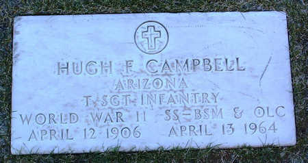 CAMPBELL, HUGH  F. - Yavapai County, Arizona | HUGH  F. CAMPBELL - Arizona Gravestone Photos