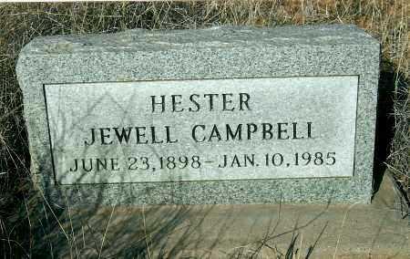 CAMPBELL, HESTER JEWELL - Yavapai County, Arizona | HESTER JEWELL CAMPBELL - Arizona Gravestone Photos