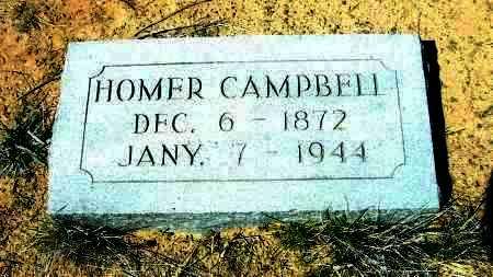 CAMPBELL, HOMER - Yavapai County, Arizona | HOMER CAMPBELL - Arizona Gravestone Photos