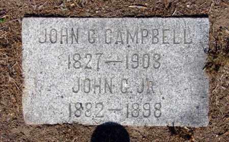 CAMPBELL, JOHN GOULDER - Yavapai County, Arizona | JOHN GOULDER CAMPBELL - Arizona Gravestone Photos
