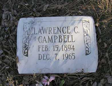 CAMPBELL, LAWRENCE CLARK - Yavapai County, Arizona | LAWRENCE CLARK CAMPBELL - Arizona Gravestone Photos