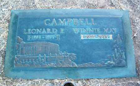 CAMPBELL, WINNIE MAY - Yavapai County, Arizona | WINNIE MAY CAMPBELL - Arizona Gravestone Photos