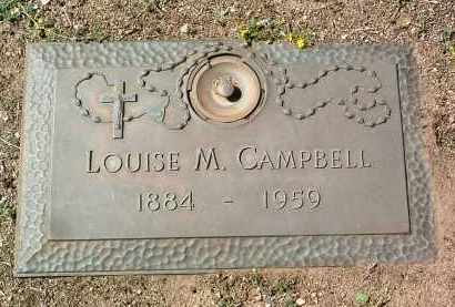 CAMPBELL, LOUISE M. - Yavapai County, Arizona | LOUISE M. CAMPBELL - Arizona Gravestone Photos