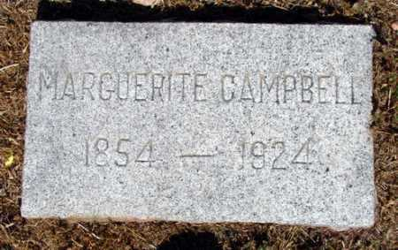 CAMPBELL, MARGUERITE - Yavapai County, Arizona | MARGUERITE CAMPBELL - Arizona Gravestone Photos