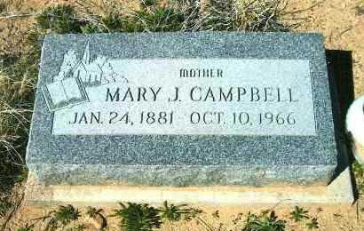 CALKINS CAMPBELL, MARY - Yavapai County, Arizona | MARY CALKINS CAMPBELL - Arizona Gravestone Photos