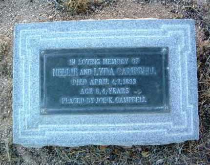 CAMPBELL, LYDA - Yavapai County, Arizona   LYDA CAMPBELL - Arizona Gravestone Photos