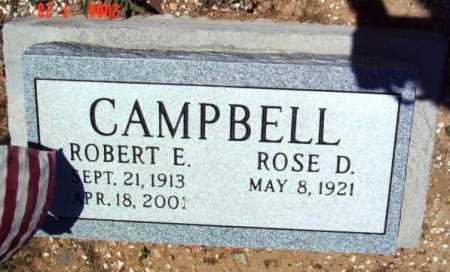 CAMPBELL, ROBERT EDWARD - Yavapai County, Arizona | ROBERT EDWARD CAMPBELL - Arizona Gravestone Photos