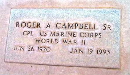 CAMPBELL, ROGER A. - Yavapai County, Arizona   ROGER A. CAMPBELL - Arizona Gravestone Photos