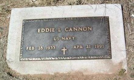 CANNON, EDDIE L. - Yavapai County, Arizona   EDDIE L. CANNON - Arizona Gravestone Photos