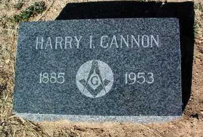 CANNON, HARRY IVAN - Yavapai County, Arizona   HARRY IVAN CANNON - Arizona Gravestone Photos
