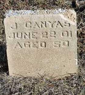 CANYAS, JUAN - Yavapai County, Arizona   JUAN CANYAS - Arizona Gravestone Photos