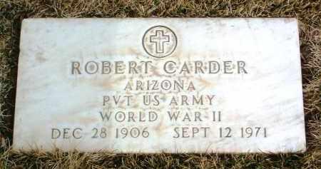 CARDER, ROBERT - Yavapai County, Arizona | ROBERT CARDER - Arizona Gravestone Photos
