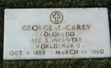 CAREY, GEORGE THOMAS - Yavapai County, Arizona | GEORGE THOMAS CAREY - Arizona Gravestone Photos