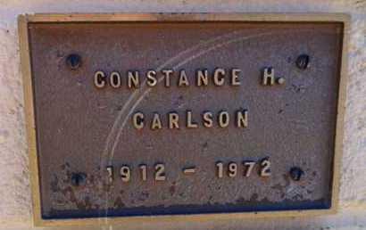 CARLSON, CONSTANCE H. - Yavapai County, Arizona   CONSTANCE H. CARLSON - Arizona Gravestone Photos