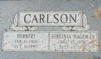 CARLSON, HERBERT - Yavapai County, Arizona | HERBERT CARLSON - Arizona Gravestone Photos