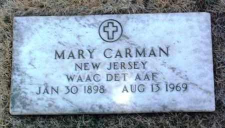 CARMAN, MARY - Yavapai County, Arizona | MARY CARMAN - Arizona Gravestone Photos
