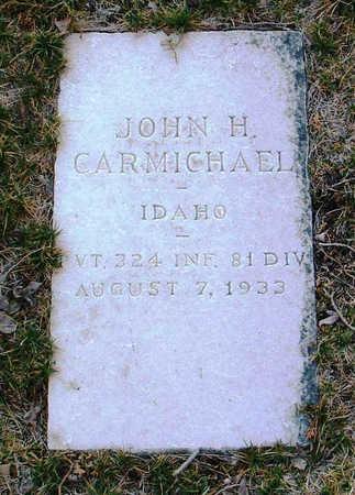 CARMICHAEL, JOHN H. - Yavapai County, Arizona | JOHN H. CARMICHAEL - Arizona Gravestone Photos