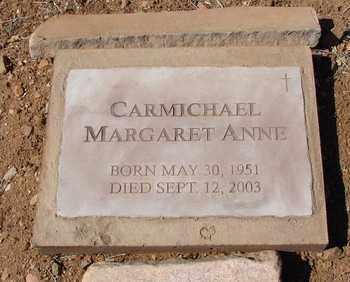 CARMICHAEL, MARGARET A. - Yavapai County, Arizona | MARGARET A. CARMICHAEL - Arizona Gravestone Photos