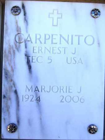 CARPENITO, ERNEST J. - Yavapai County, Arizona   ERNEST J. CARPENITO - Arizona Gravestone Photos
