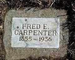 CARPENTER, FRED E. - Yavapai County, Arizona   FRED E. CARPENTER - Arizona Gravestone Photos