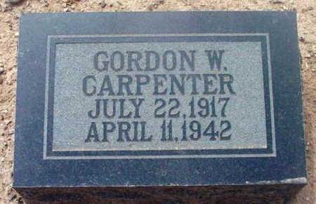 CARPENTER, GORDON W. - Yavapai County, Arizona | GORDON W. CARPENTER - Arizona Gravestone Photos