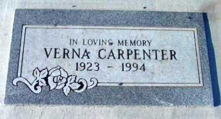 CARPENTER, VERNA - Yavapai County, Arizona | VERNA CARPENTER - Arizona Gravestone Photos