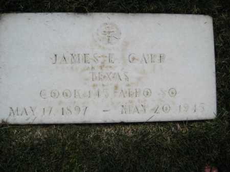 CARR, JAMES E - Yavapai County, Arizona | JAMES E CARR - Arizona Gravestone Photos
