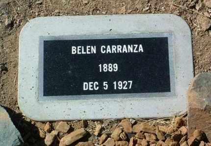 CARRANZA, BELEN - Yavapai County, Arizona   BELEN CARRANZA - Arizona Gravestone Photos