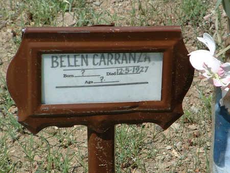 VALENCIA CARRENZA, B. - Yavapai County, Arizona   B. VALENCIA CARRENZA - Arizona Gravestone Photos