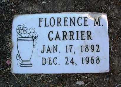 CARRIER, FLORENCE M. - Yavapai County, Arizona | FLORENCE M. CARRIER - Arizona Gravestone Photos