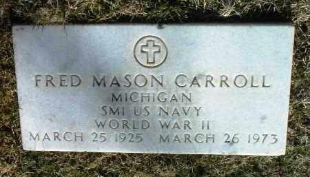 CARROLL, FRED MASON - Yavapai County, Arizona | FRED MASON CARROLL - Arizona Gravestone Photos