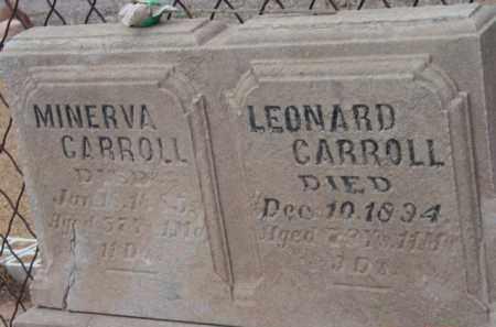CARROLL, MINERVA - Yavapai County, Arizona | MINERVA CARROLL - Arizona Gravestone Photos