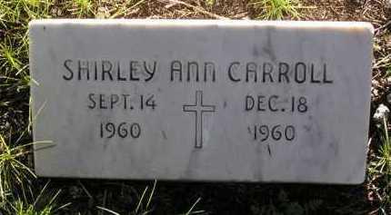 CARROLL, SHIRLEY ANN - Yavapai County, Arizona | SHIRLEY ANN CARROLL - Arizona Gravestone Photos