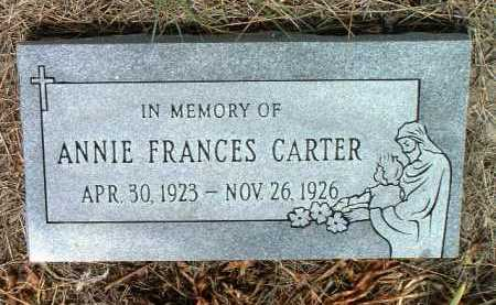 CARTER, ANNE FRANCES - Yavapai County, Arizona | ANNE FRANCES CARTER - Arizona Gravestone Photos