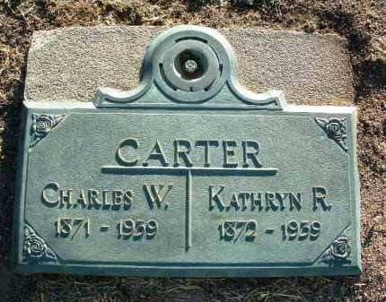 CARTER, KATHRYN R. - Yavapai County, Arizona | KATHRYN R. CARTER - Arizona Gravestone Photos
