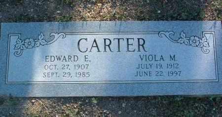 CARTER, EDWARD EVERIT - Yavapai County, Arizona | EDWARD EVERIT CARTER - Arizona Gravestone Photos