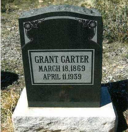 CARTER, GRANT - Yavapai County, Arizona   GRANT CARTER - Arizona Gravestone Photos