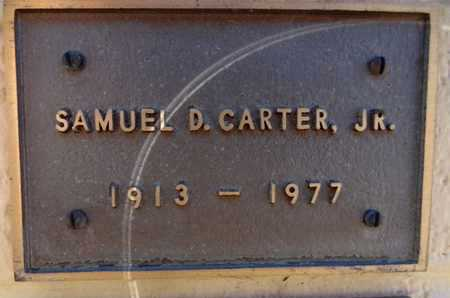 CARTER, SAMUEL DAY, JR. - Yavapai County, Arizona | SAMUEL DAY, JR. CARTER - Arizona Gravestone Photos