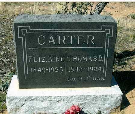 CARTER, THOMAS BRUNSTON - Yavapai County, Arizona | THOMAS BRUNSTON CARTER - Arizona Gravestone Photos