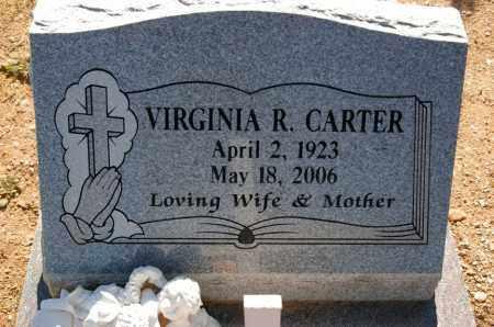 LEE CARTER, VIRGINIA RUTH - Yavapai County, Arizona   VIRGINIA RUTH LEE CARTER - Arizona Gravestone Photos