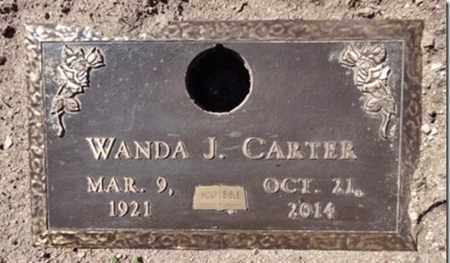 CARTER, WANDA JANE - Yavapai County, Arizona | WANDA JANE CARTER - Arizona Gravestone Photos