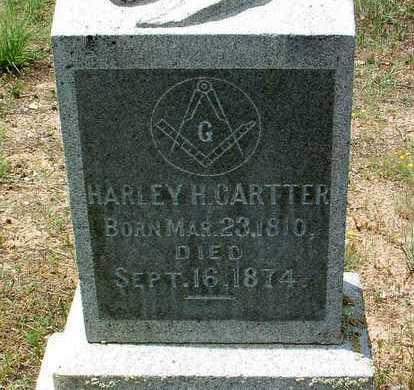 CARTTER, HARLEY HIGH - Yavapai County, Arizona | HARLEY HIGH CARTTER - Arizona Gravestone Photos