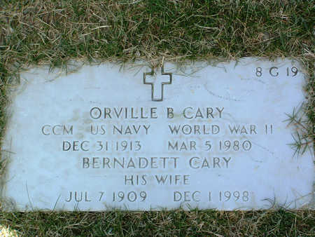 CARY, BERNADETTE - Yavapai County, Arizona | BERNADETTE CARY - Arizona Gravestone Photos