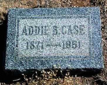 CASE, ADDIE B. - Yavapai County, Arizona | ADDIE B. CASE - Arizona Gravestone Photos