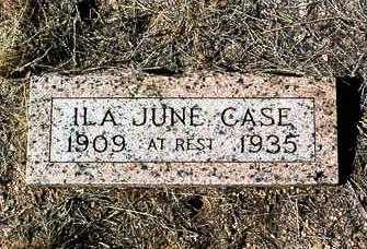 ALLEN CASE, ILA JUNE - Yavapai County, Arizona | ILA JUNE ALLEN CASE - Arizona Gravestone Photos