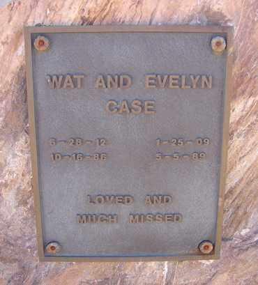 CASE, WATSON (WAT) - Yavapai County, Arizona | WATSON (WAT) CASE - Arizona Gravestone Photos